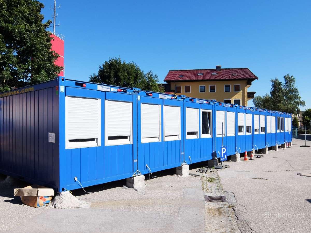 Biuro,buitinia,sandėliavimo konteineriai.