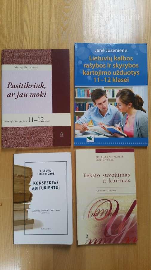 Papildomos priemonės Lietuvių kalbos egzaminui