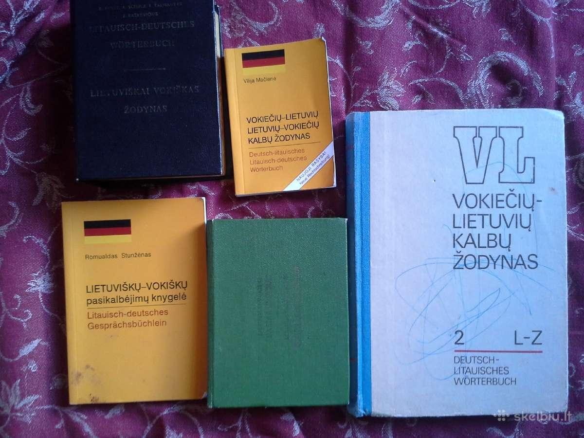 Knygos besimokantiems vokiečių kalbą