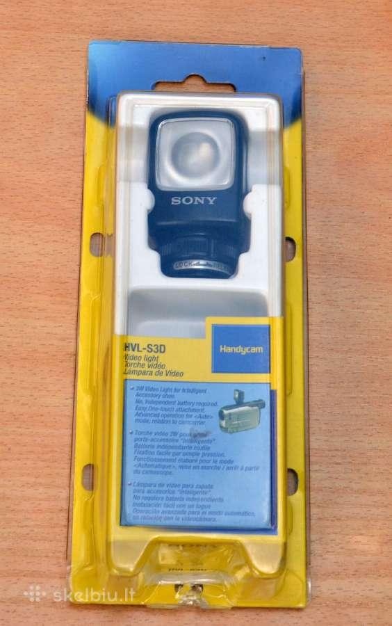 Šviestuvas Sony vaizdo kamerai