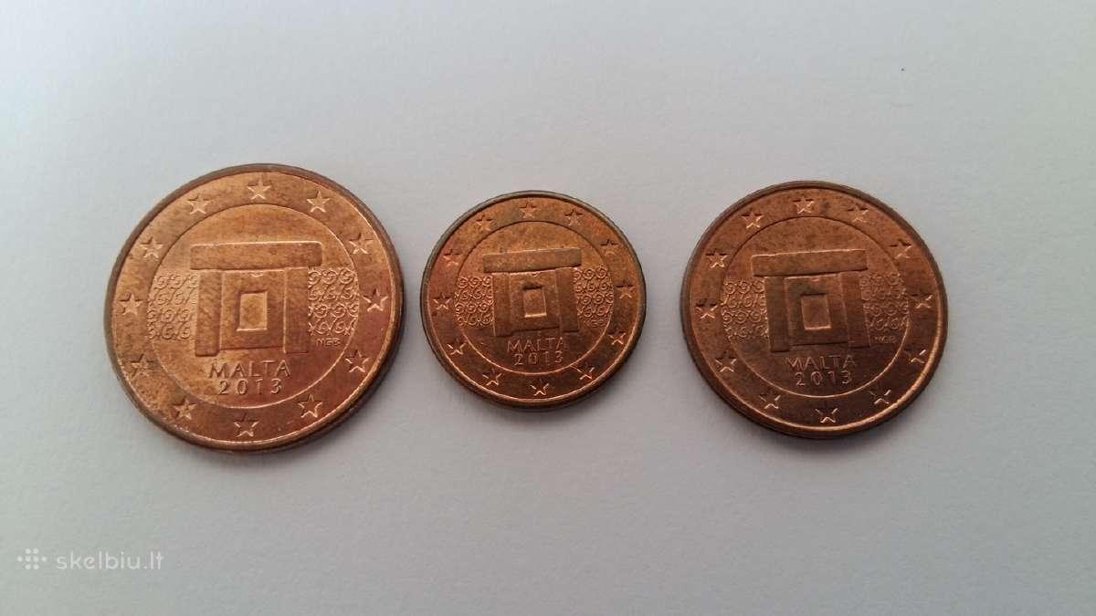 Malta rinkinukas nuo 1c iki 5c