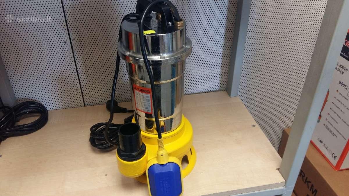Elektriniai vandens siurbliai herkmann