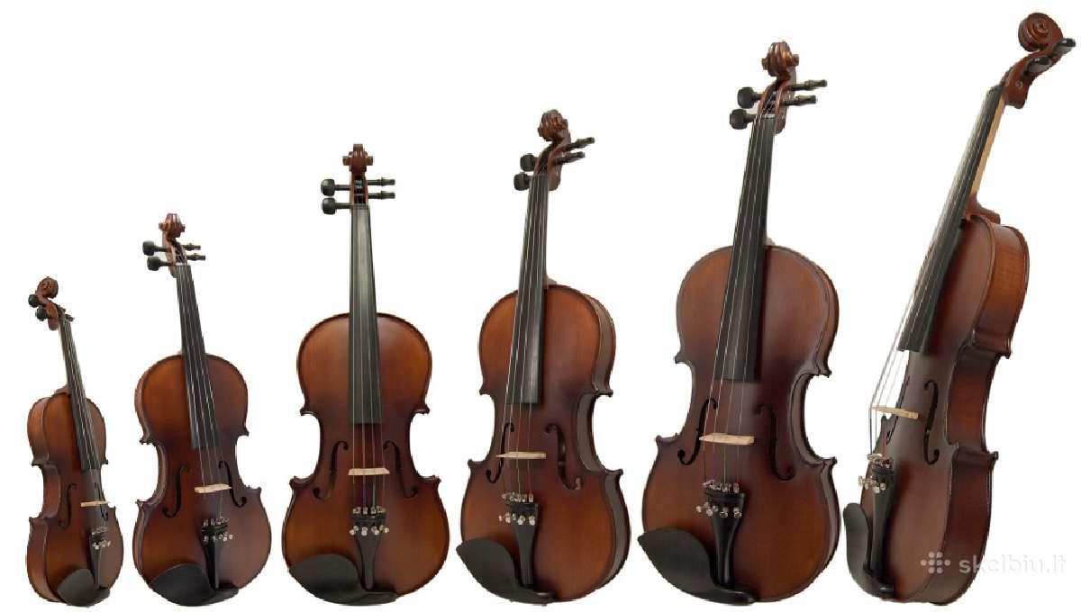 Įvairūs smuikai