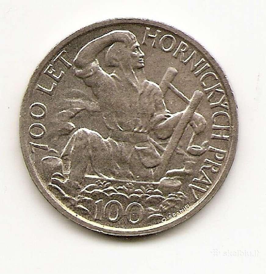 Cekoslovakija 100 korun 1949 #29