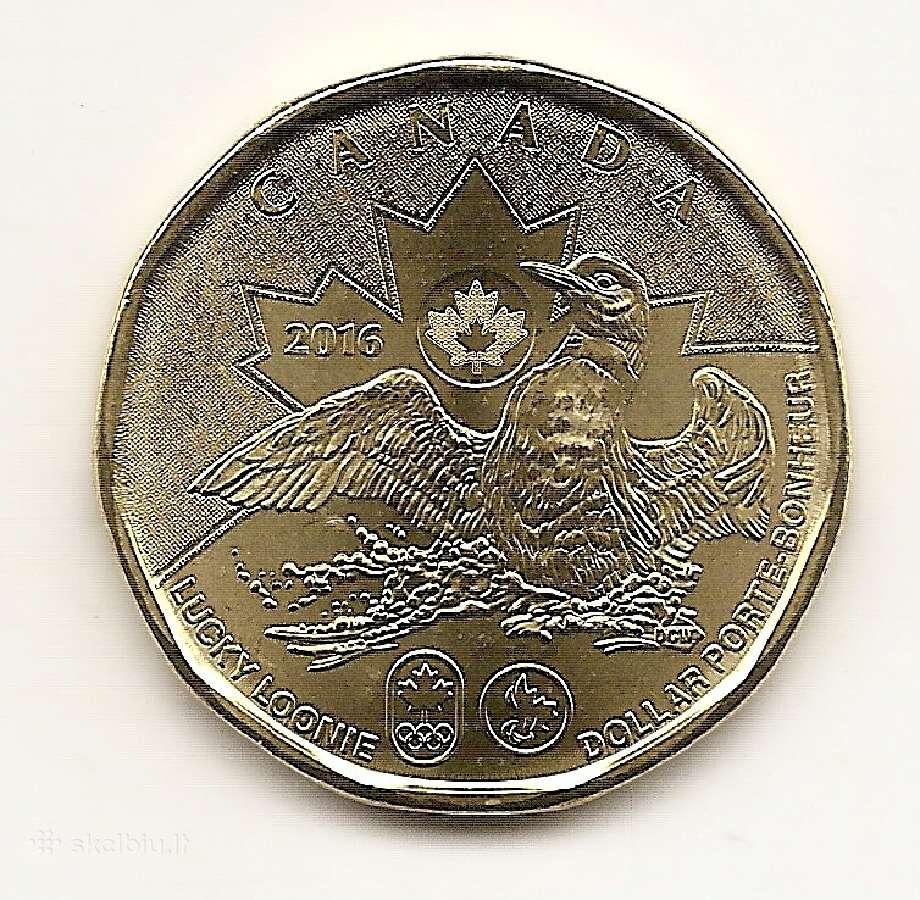 Kanada dollar 2016 Rio olimpiadai