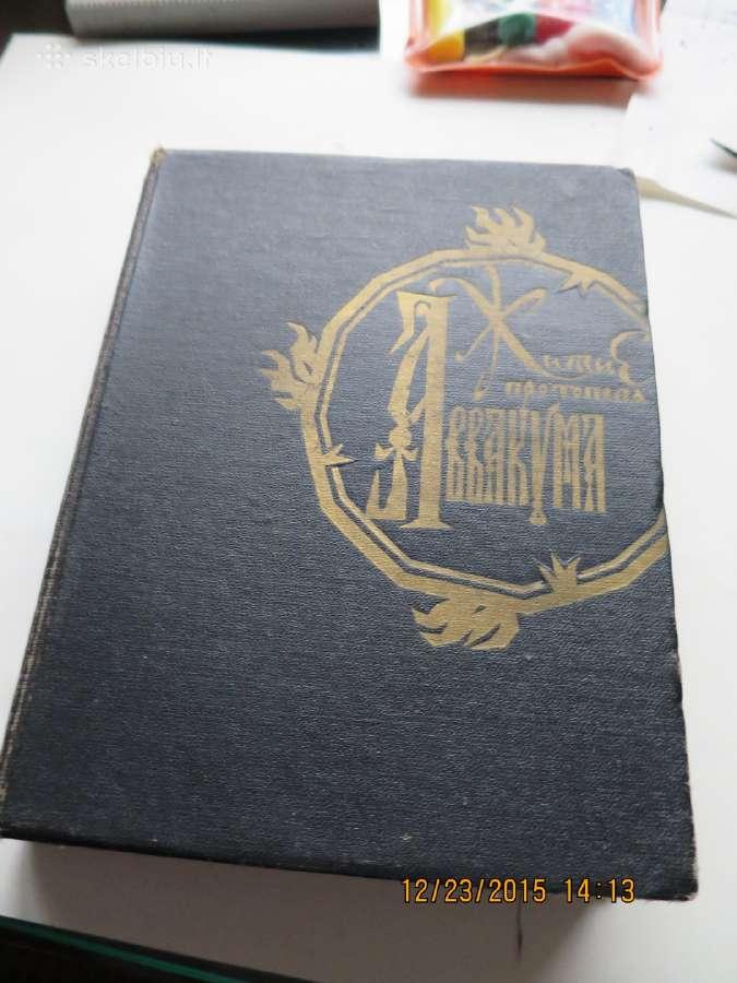 Retos knygos- rusu kalba- kaina sutartine