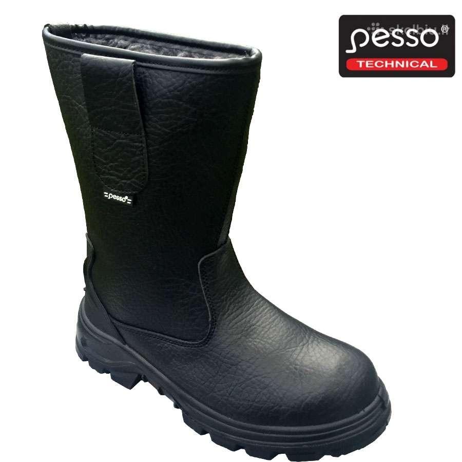 Odiniai auliniai batai Pesso Bss2 S3 Src /Gevanta