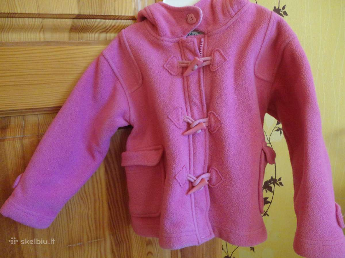 Rožinė striukytė-švarkelis, dydis 9-15 mėn