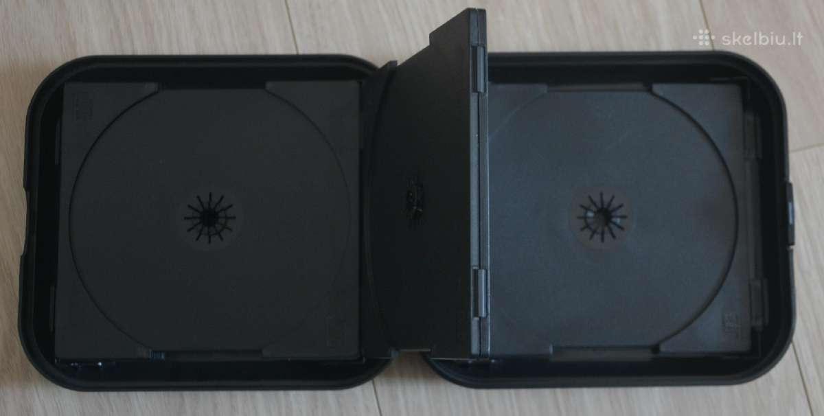 Plastikinis CD-dvd dėklas.