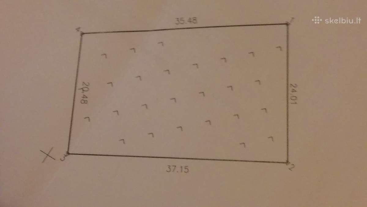 0.8 ir 0.15 ha sklypai Kisiniuose