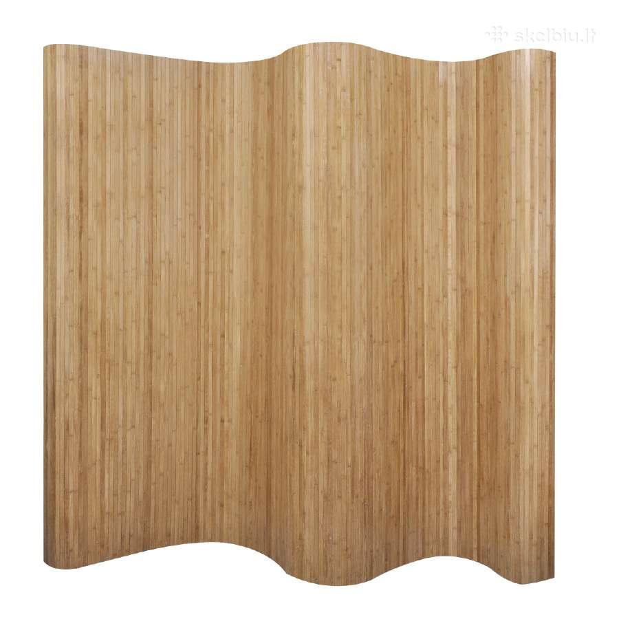 Kambario Pertvara iš Bambuko, Natūralios Spalvos