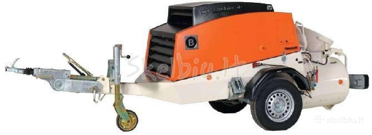 Grindų betonavimas profesionalia įranga