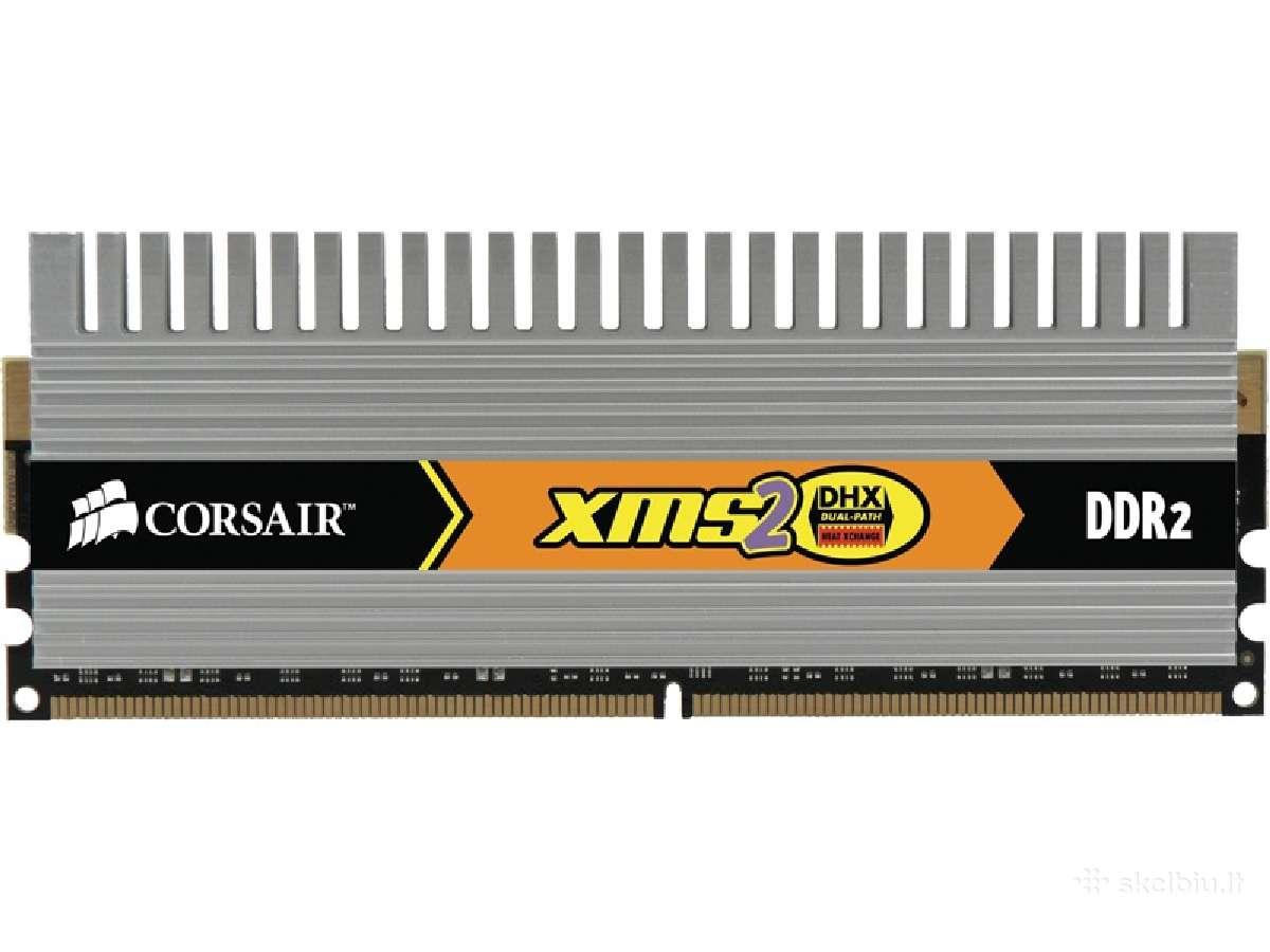 4 GB Ddr2 Corsair Xms 2 800mhz 4x1gb