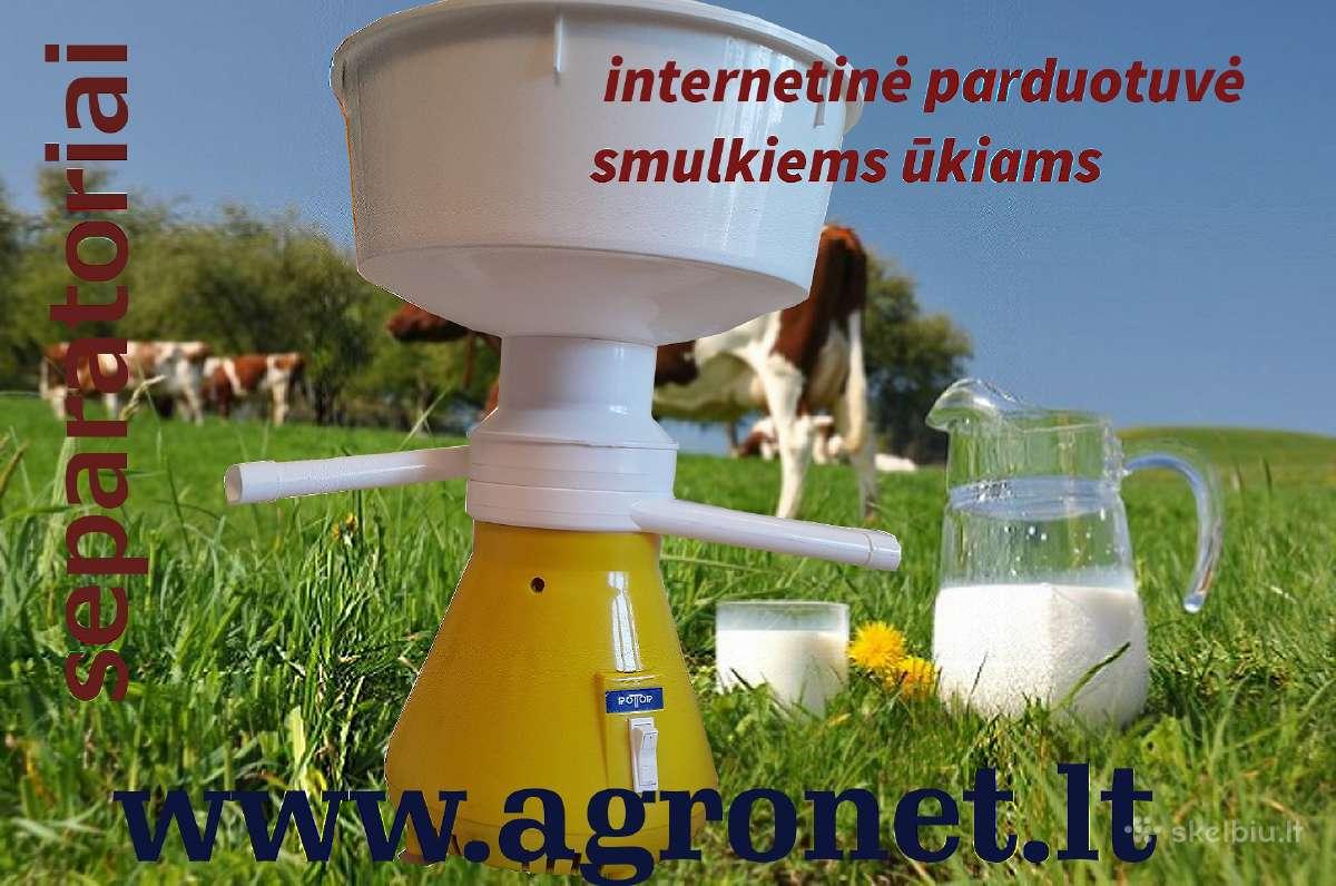 Pieno separatoriai