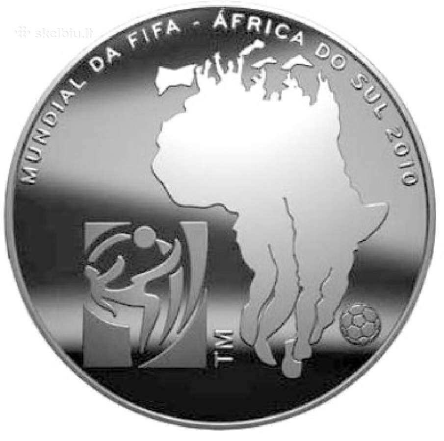 Portugalija 2,50 euro 2010 Fifa World Cup