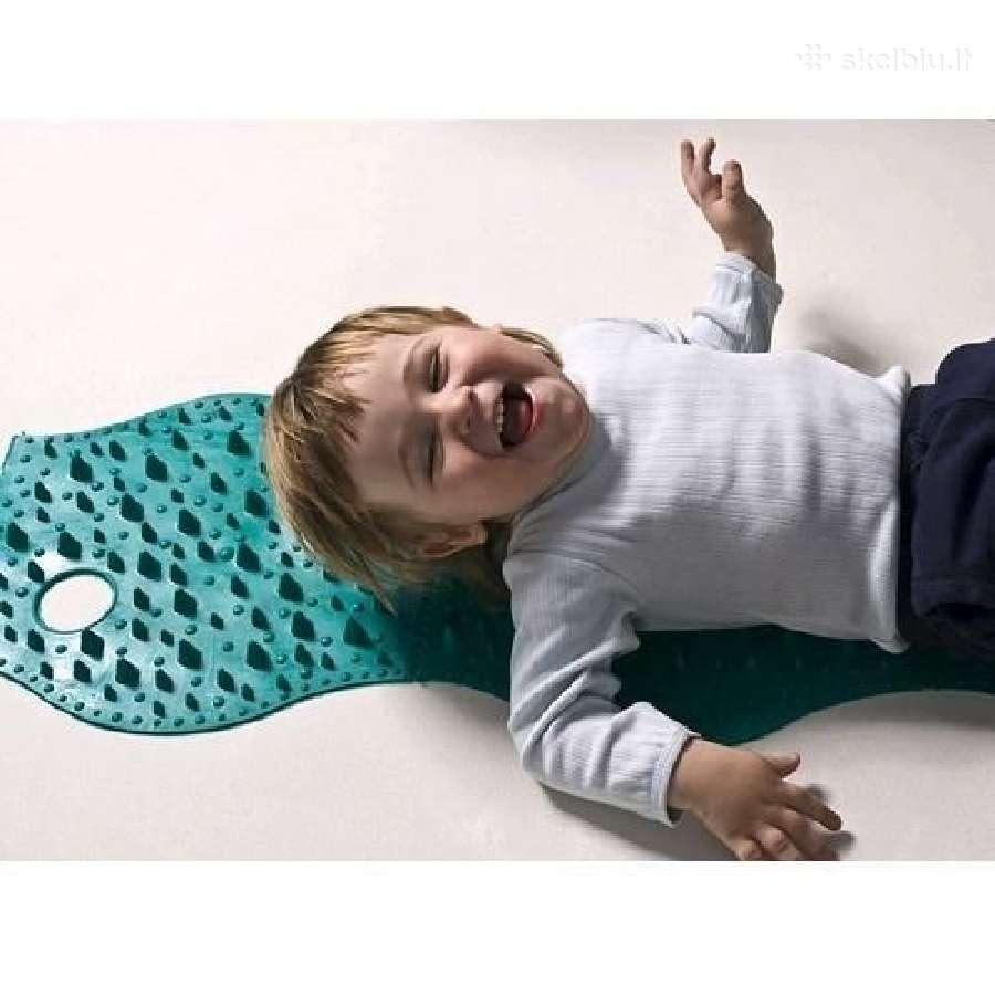 Plokščiapėdystei Ežiukas masažinis kilimėlis