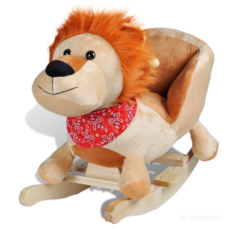 Supama Vaikiška Kėdutė Liūtas, vidaxl