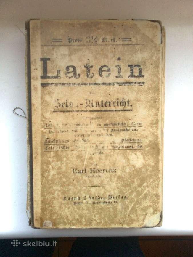 Lotynu kalbos mokymo priemone vokiskai <Latein>
