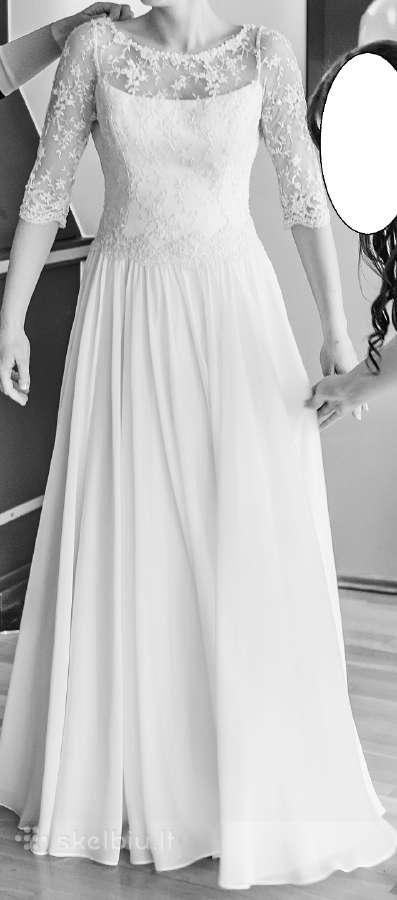 Nuostabaus grožio vestuvinė suknelė