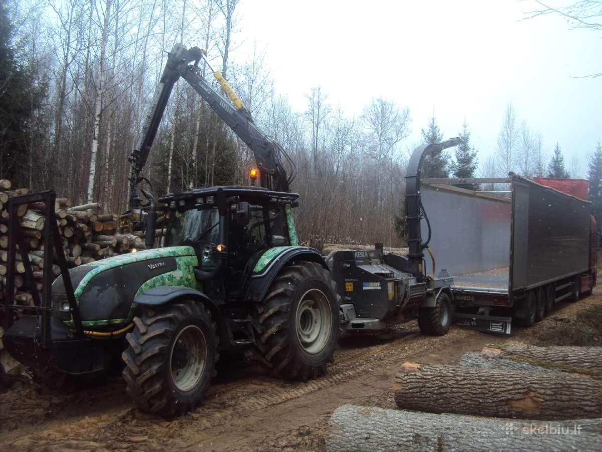 Mško, krūmų kirtimas, Biokuro gamyba