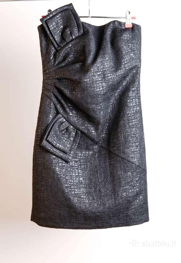 Trumpa juoda suknutė