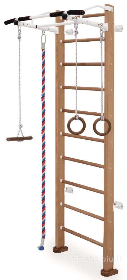 Medinė švediška/gimnastikos sienelė