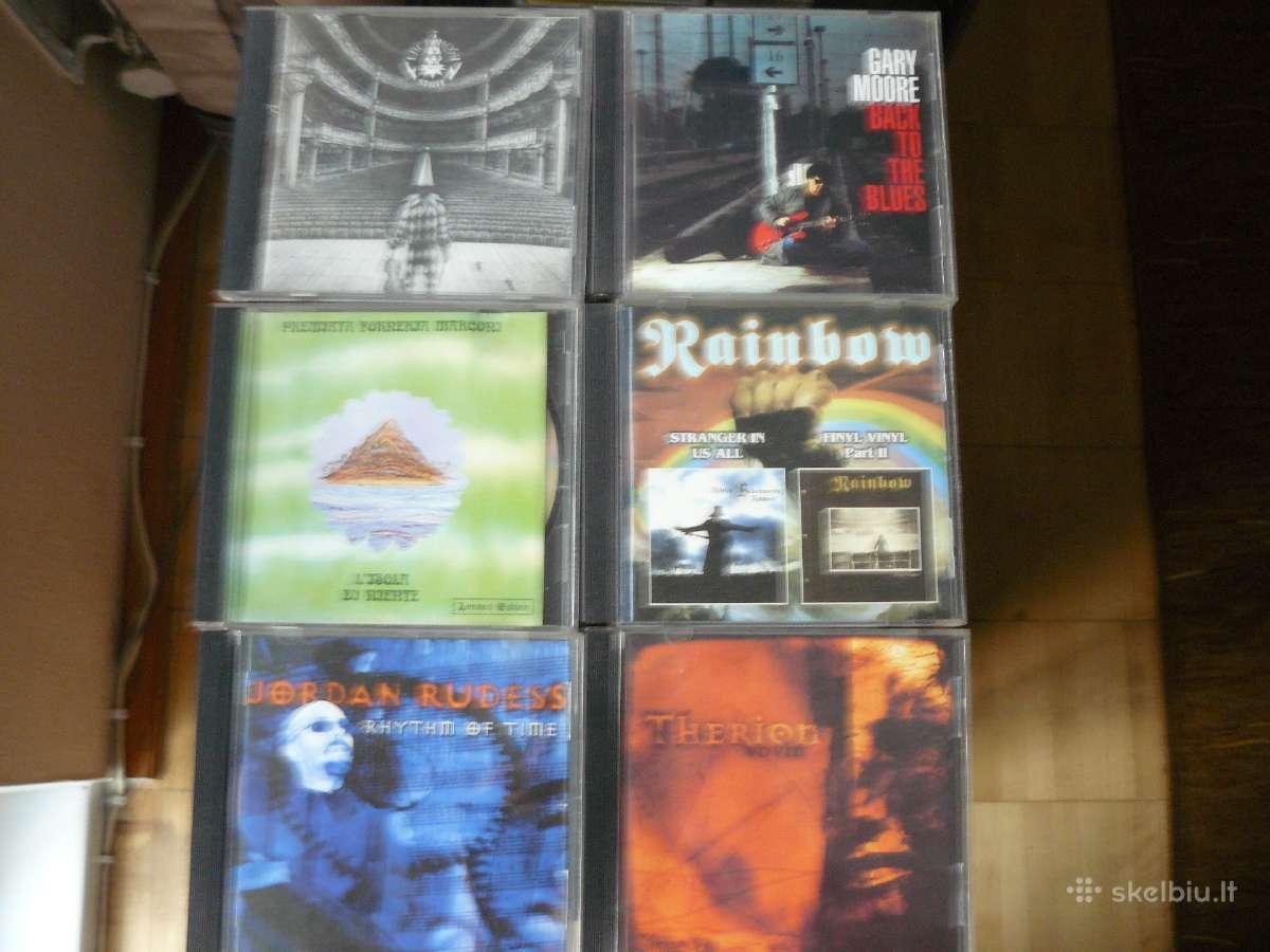 Progressive rock, rock, heavy metal ir kt.