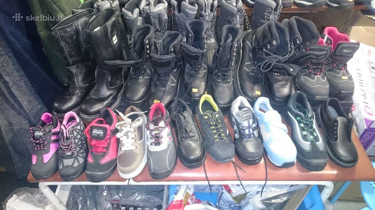 Nauji darbiniai moteriški batai nuo 6€!