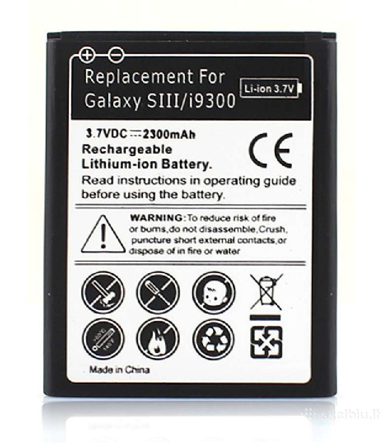 Samsung Galaxy S3 baterija