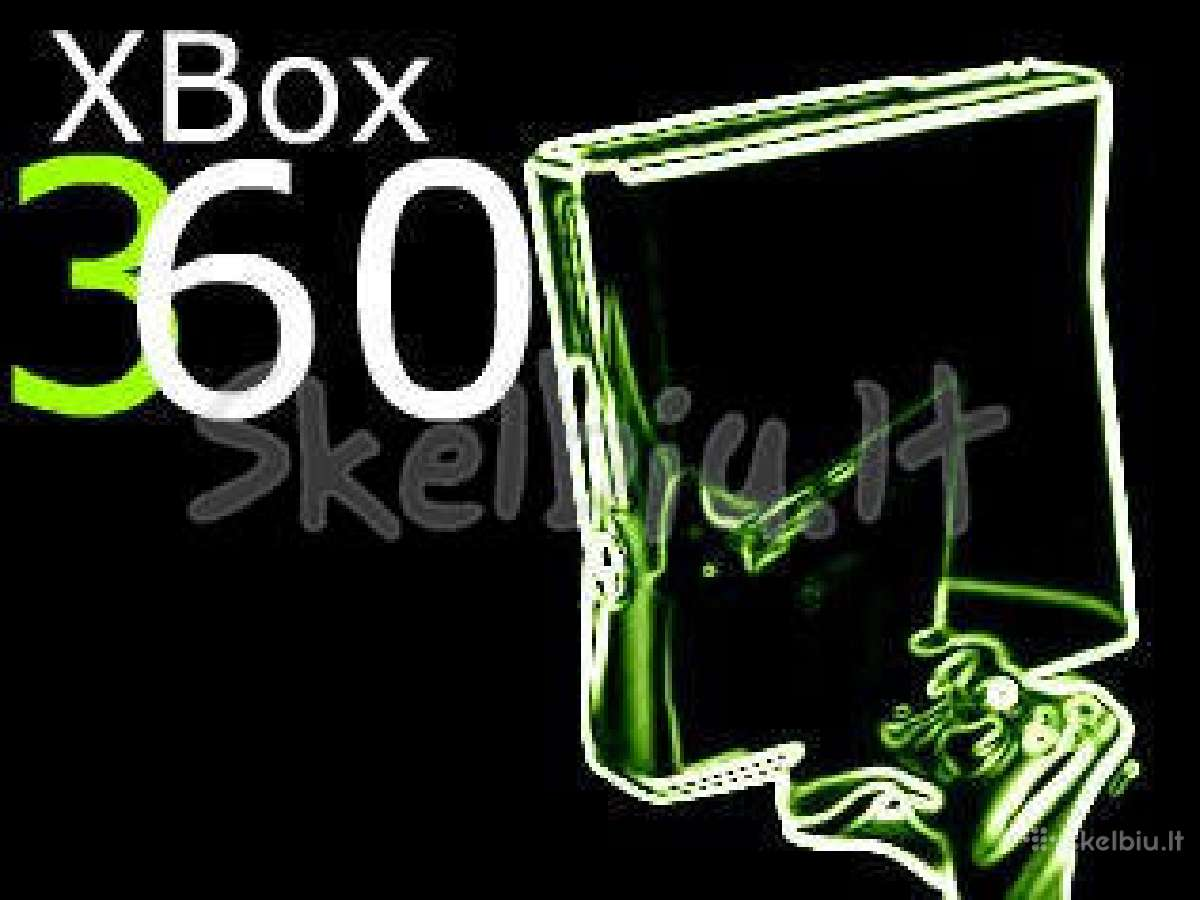 Xbox 360 atrišimas, flašinimas, čipavimas rgh/jtag