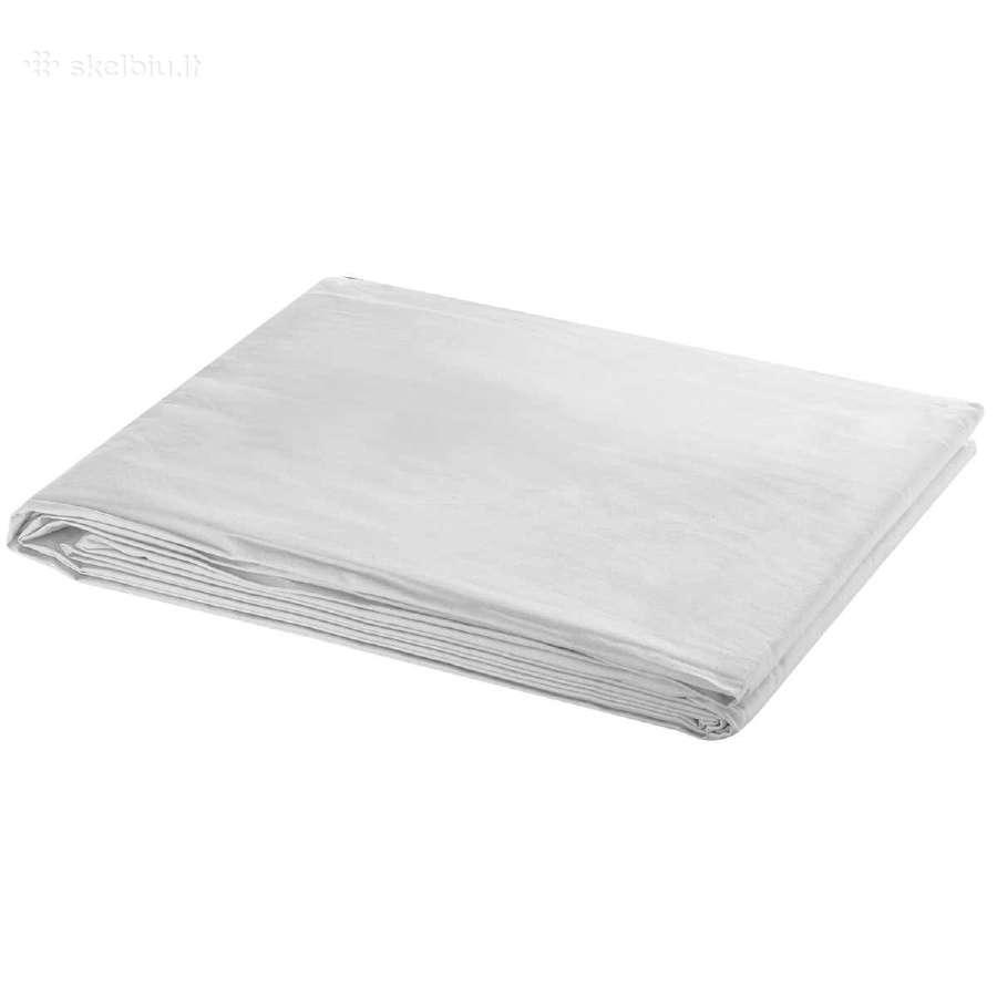 Baltas Fonas 300 x 300 cm, vidaxl