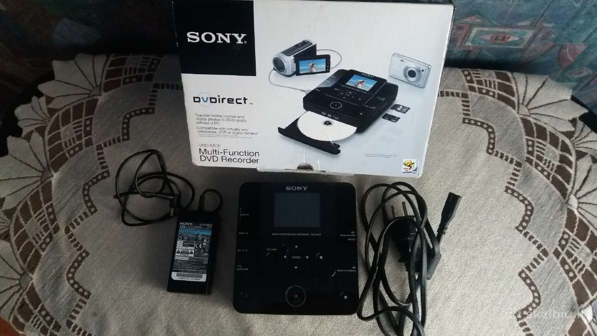 Dvd Recorder Sony Vrdmc6 Multi-function external