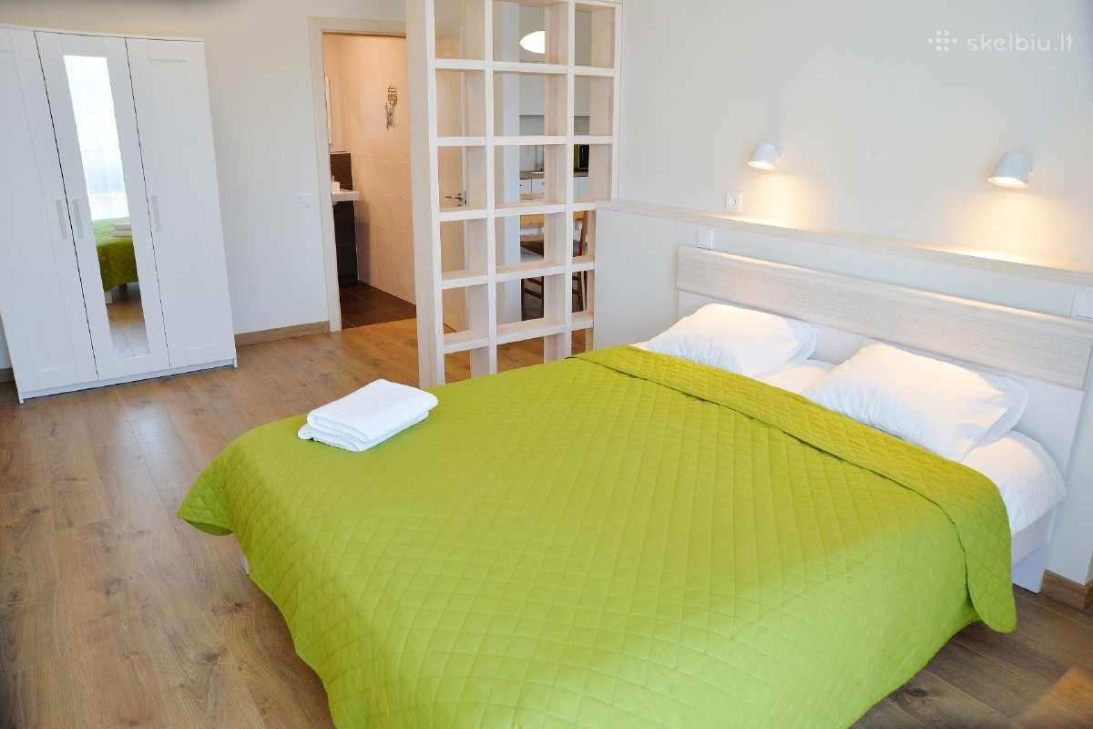 Manto apartamentai-studija 57м2 centre + parkingas