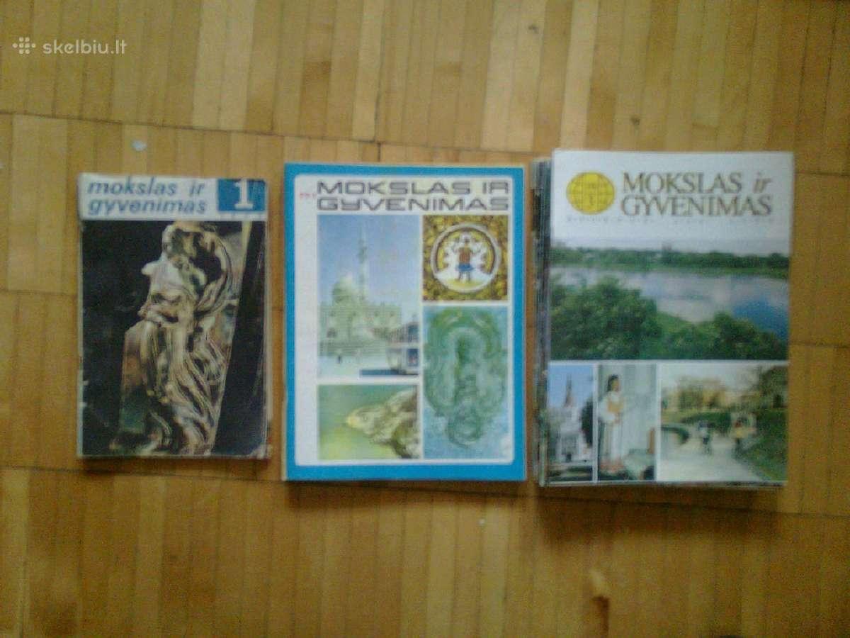Zurnalai <Mokslas ir gyvenimas> 1968 - 1996m.
