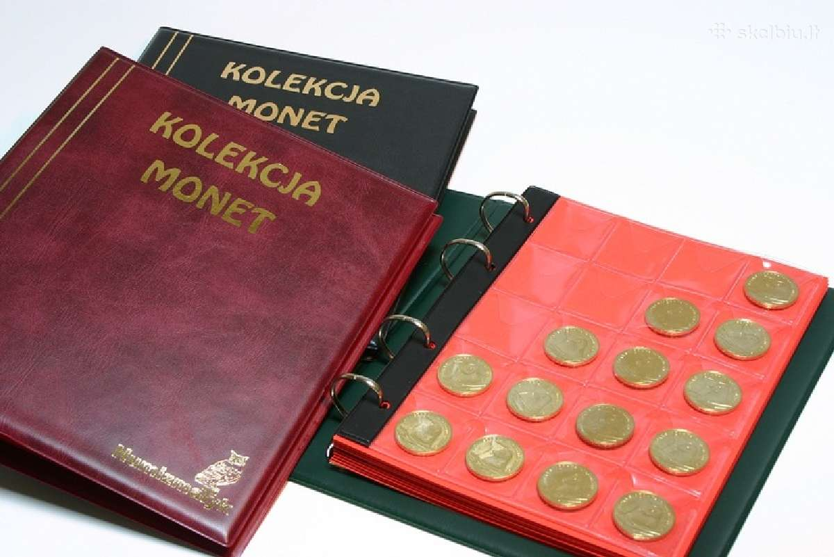Albumai 2 eurų monetoms