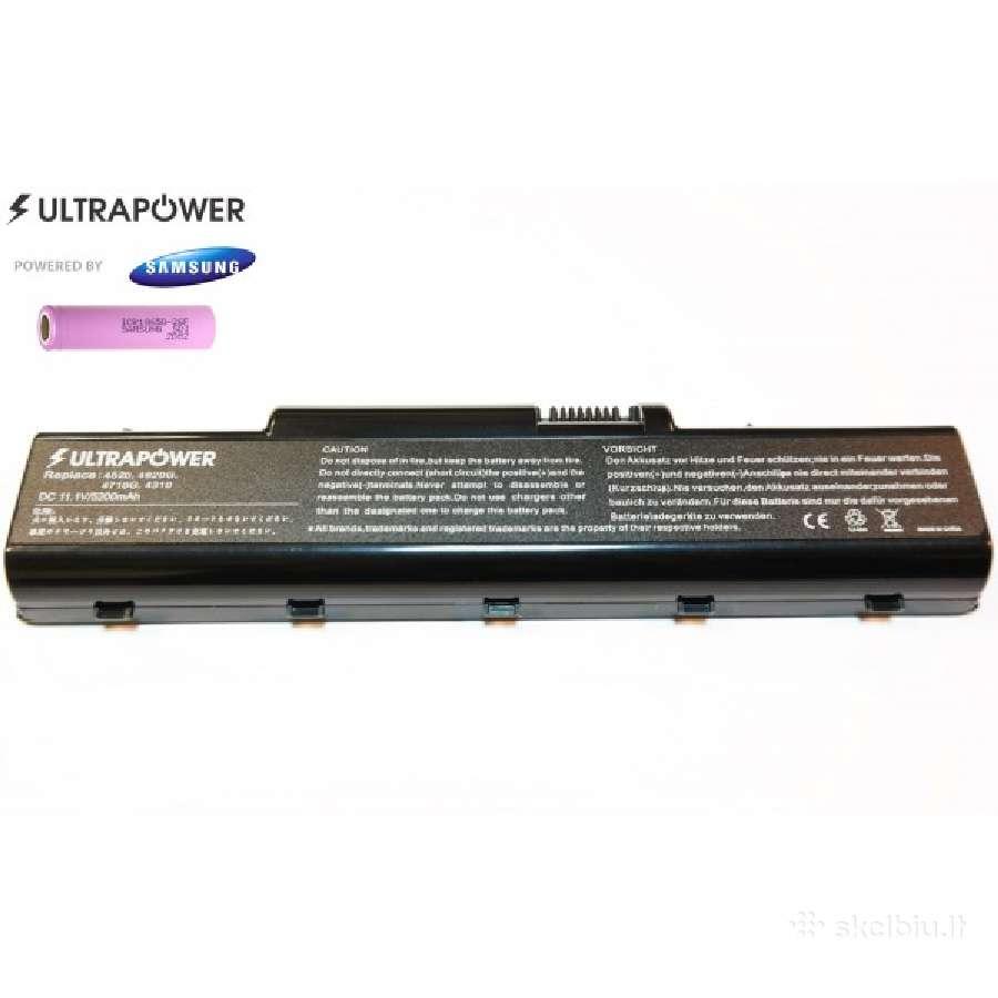 Naujos baterijos acer as07a72 - 48 eurai
