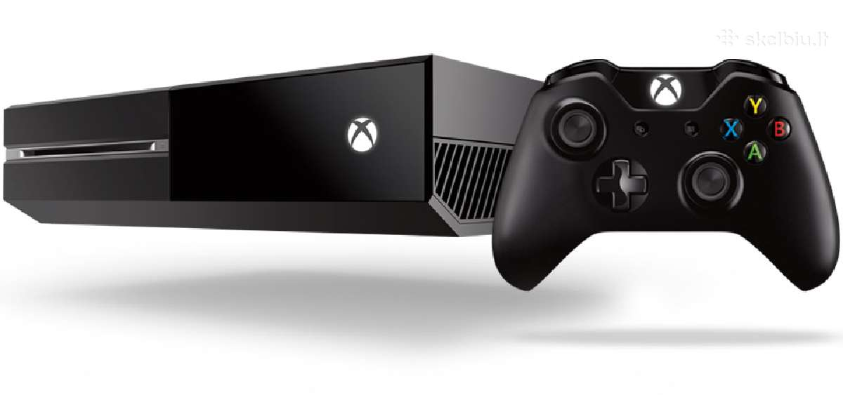 Xbox One 1tb. Garantija.