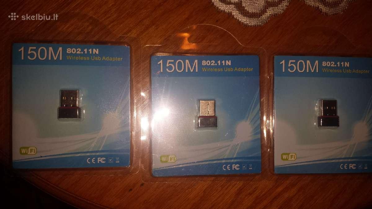 Micro WiFi bevielio rysio adapterius r/GB