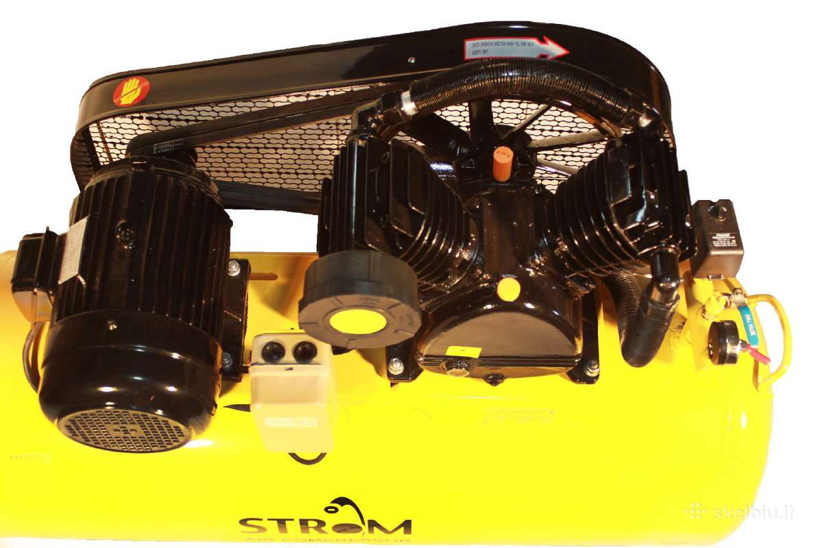 Oro kompresorius 2/200 600l/min 4kw