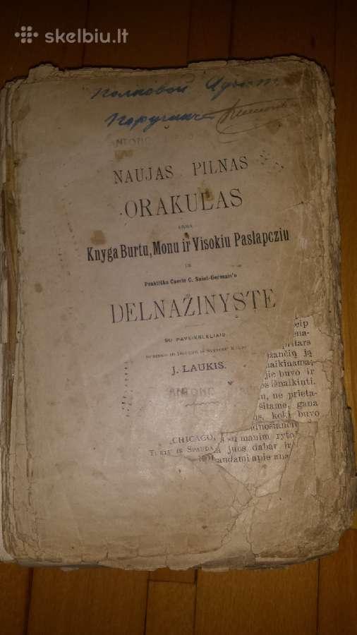 Burtu knyga 1904metai