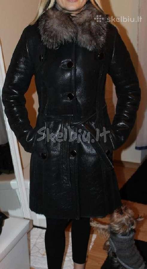 Madingas žieminis šiltas paltas 36-38 dydis