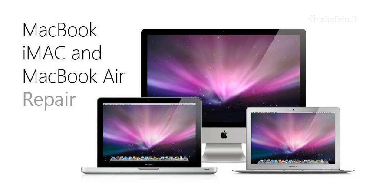 Pirkčiau MacBook Air, Pro, iMac