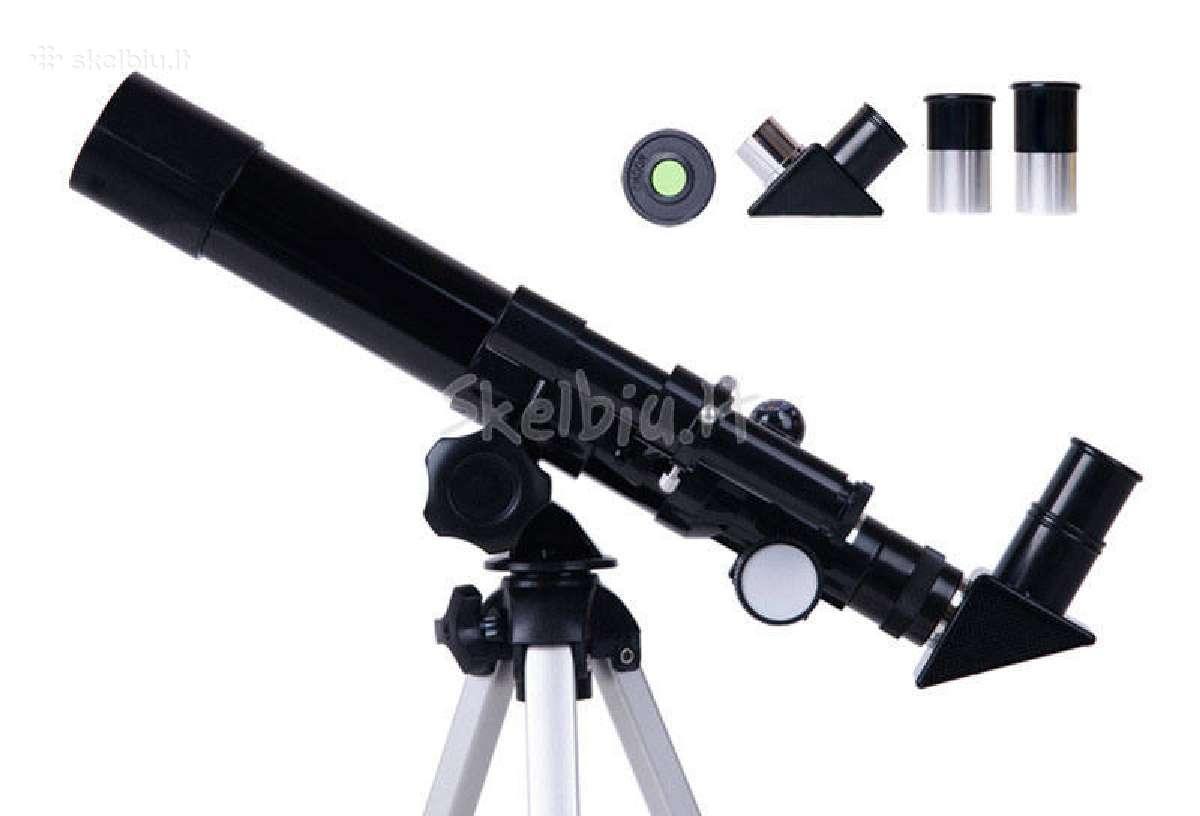 Pigiausi teleskopai pradedantiesiems + akcija 35eu