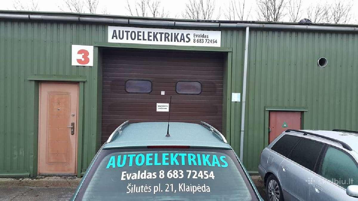 Autoelektrikas-evaldas-klaipėda