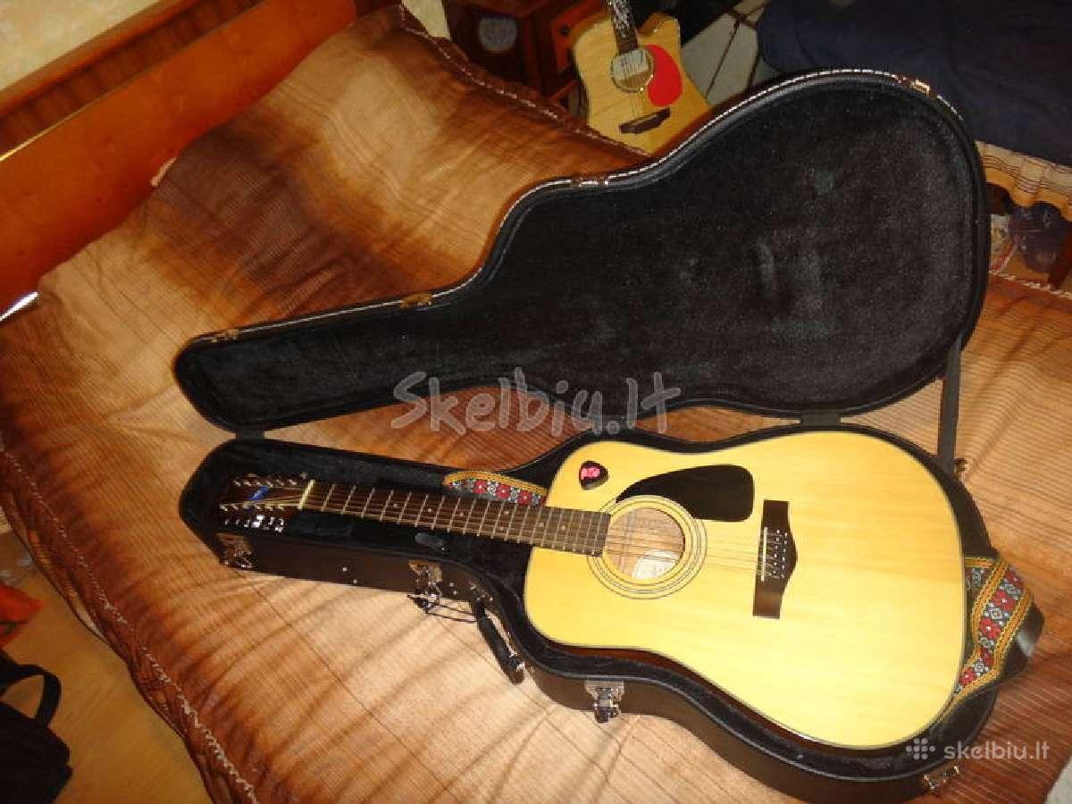 Fender 12-stygė gitara