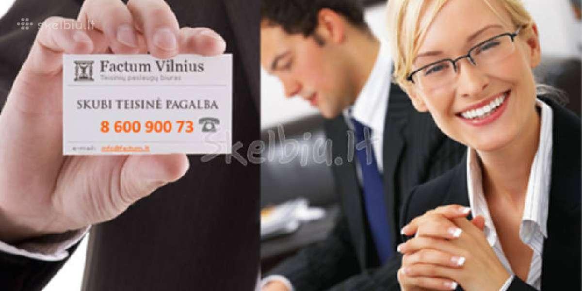 Buveinės adresas Vilniuje tik 60 Eur
