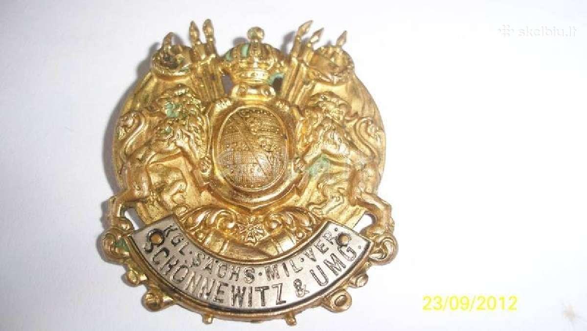 Emblema zenklas kokarda