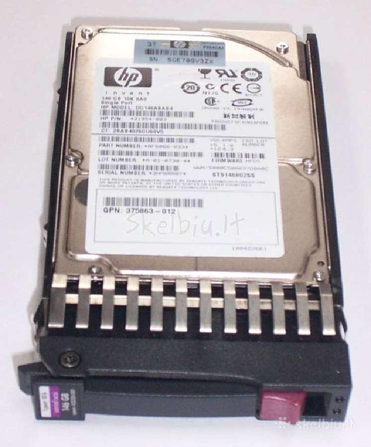 Serverio diskas hp 4320230-001 sas 2.5 146gb 10k