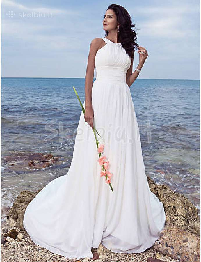Graikisko stiliaus vestuvine suknele