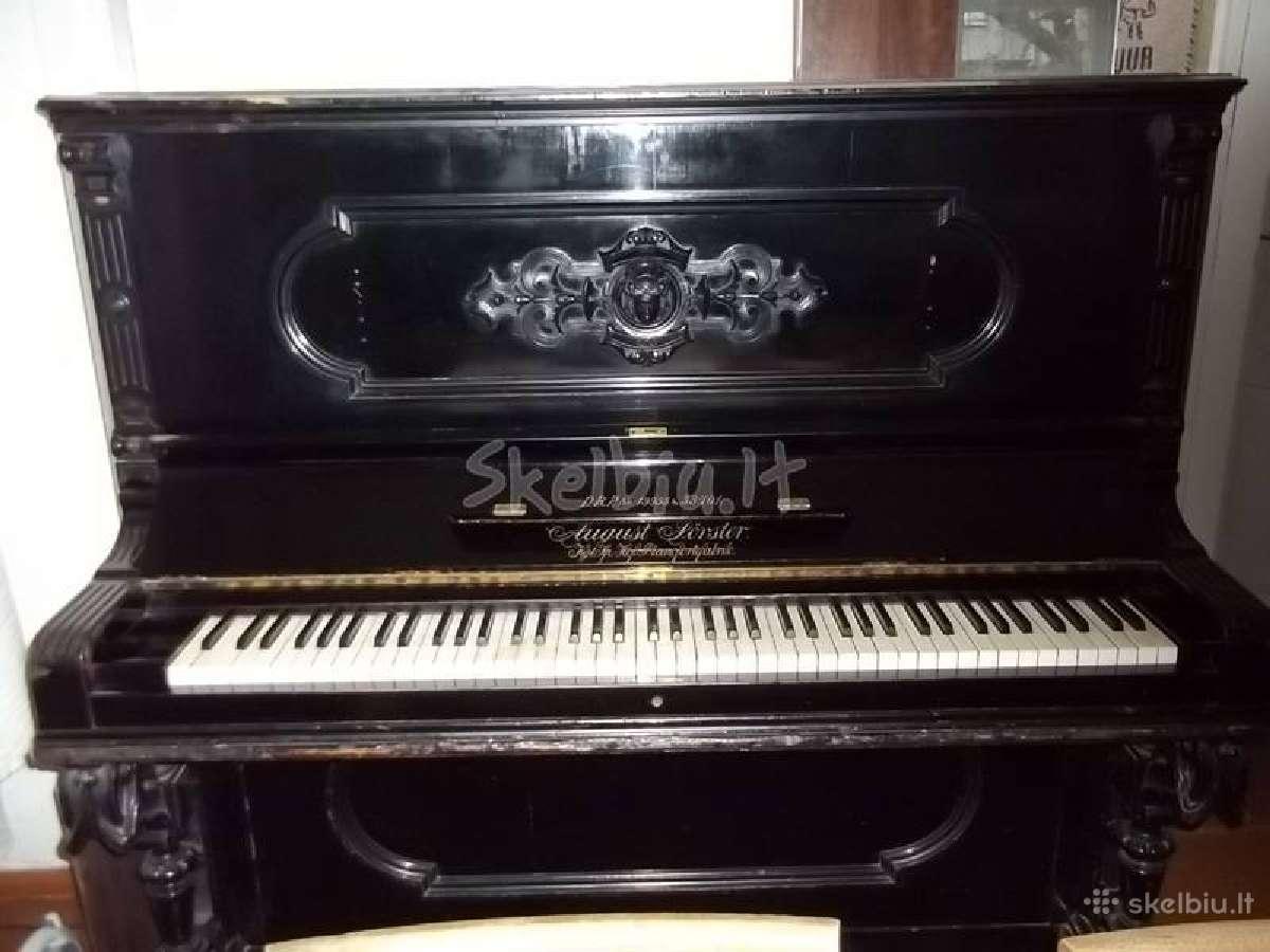 Parduodu antikvarini August Forster pianina